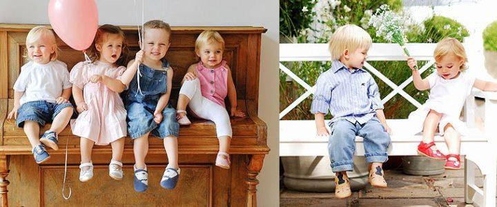 Chaussons pour bébé Shooshoos