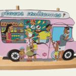 jouets de Noël 2012 : camion de glaces arthur et marie