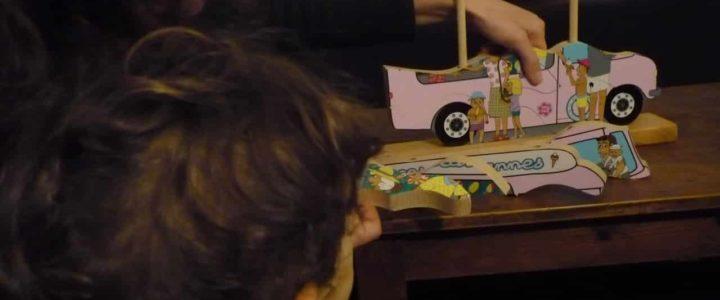jouets en bois éducatifs pour enfants arthur et marie