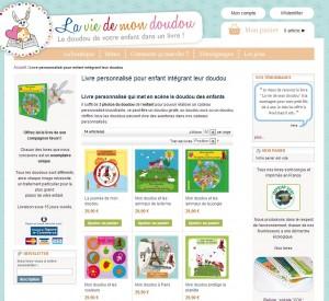 livre personnalisé pour enfant avec doudou