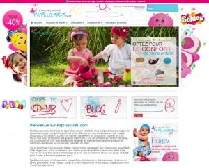 boutique de chaussons pour bébé Papillousses