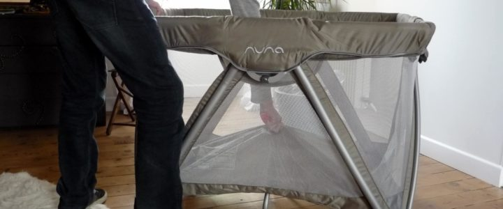 test du lit parapluie sena de nuna