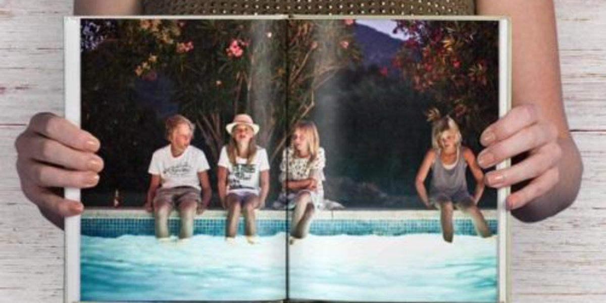 livre photo de famille avec blurb