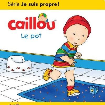livre sur l'apprentissage de la propreté : Caillou le pot