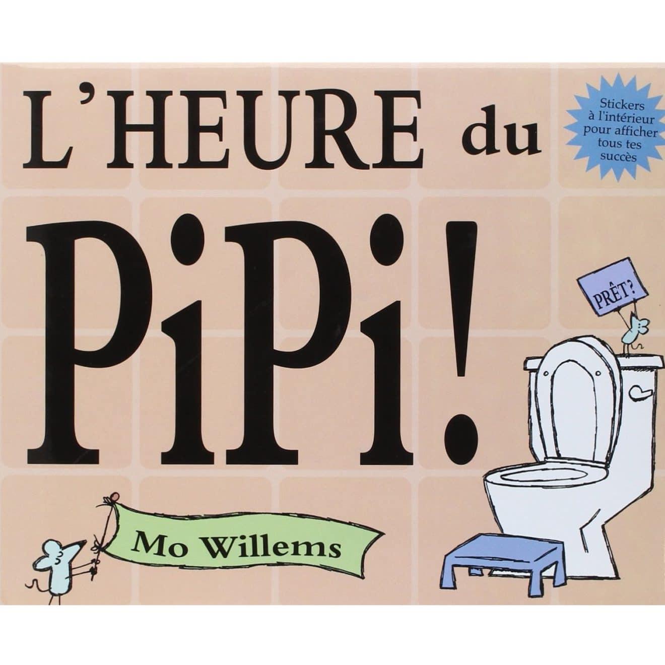 livre sur l'apprentissage de la propreté : l'heure du pipi
