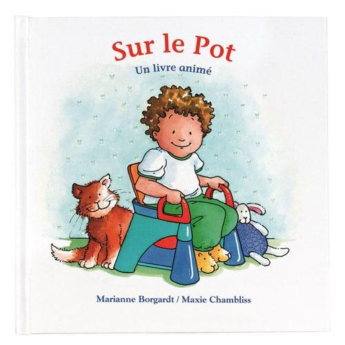 livre sur l'apprentissage de la propreté : sur le pot