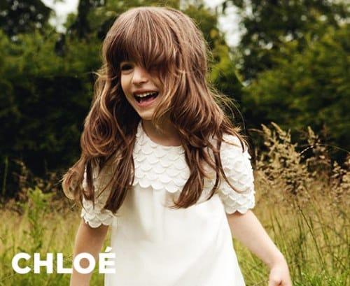 mode enfant chloé
