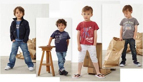mode enfant Levi's