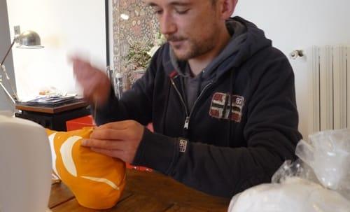 doudou DIY Paapii Design, la fermeture