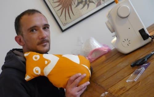 doudou DIY famille de renards Paapii Design