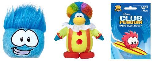 jeux en ligne pour enfant club penguin, dotation du concours