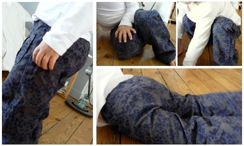 pantalon indestructible vertbaudet