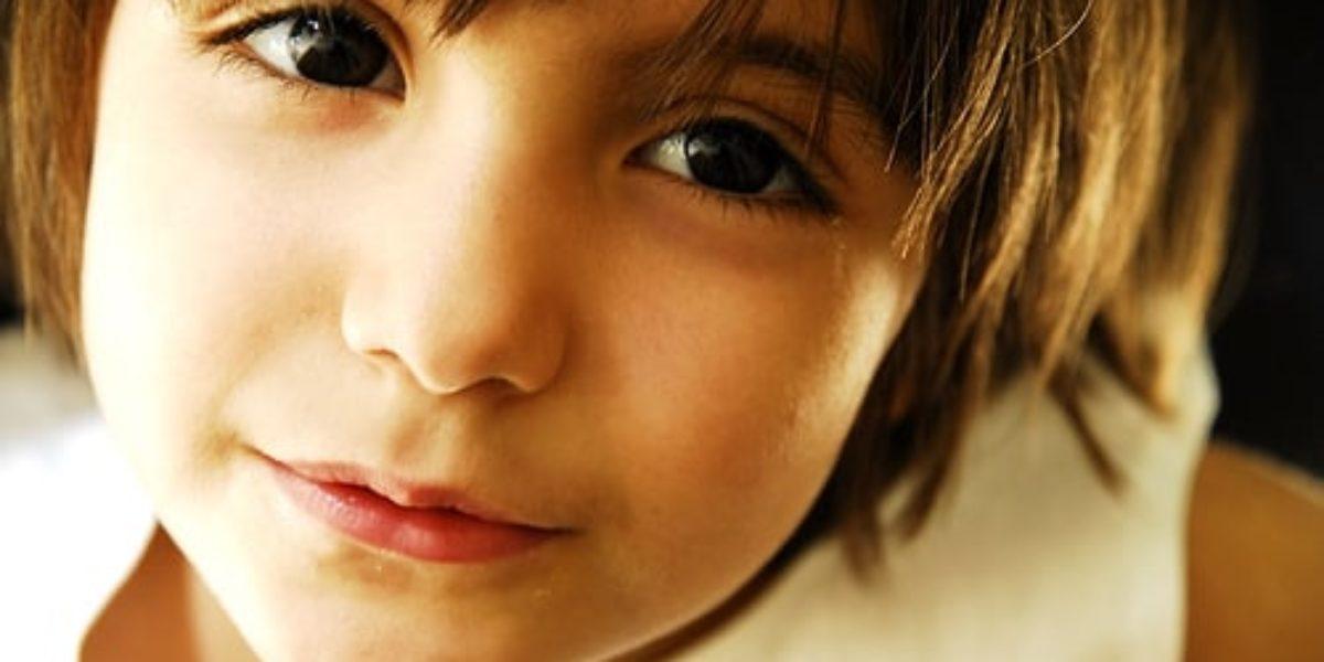 Dans les yeux d'un enfant