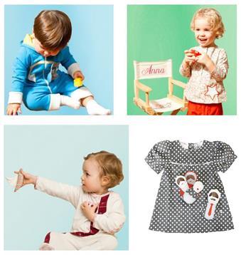 collection de vêtements d'éveil pour enfants