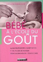 diversification alimentaire : bébé à l'école du goût