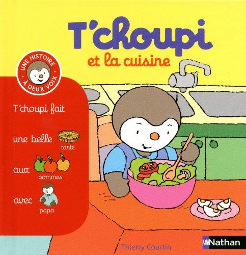 diversification alimentaire : Tchoupi et la cuisine