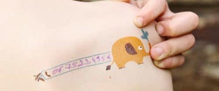 enfants : faut-il les tatouer pour ne pas les perdre ?