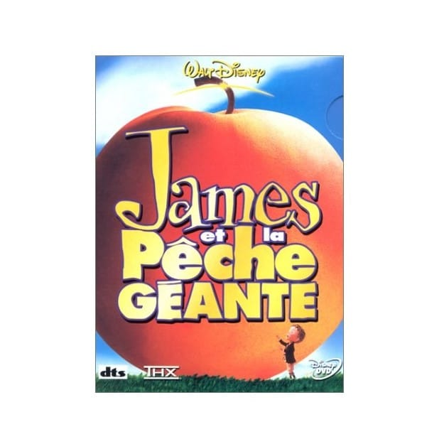 Dessin Animé James et la Pêche Géante