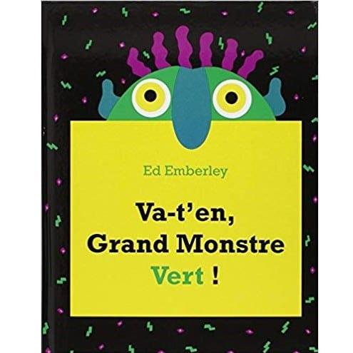 livres sur les peurs d'enfant : Va-t-en grand monstre vert !