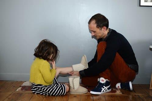 shopping père / fille : cotelac, ikks, onitsuka tiger, petit bateau, benetton, roxy baby