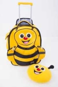 Valise pour enfant abeille Cuties and Pals