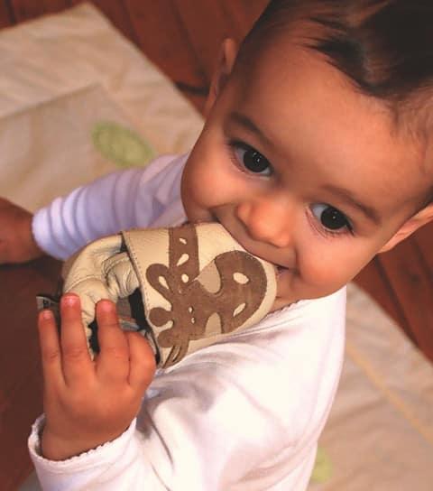 Graine de shoes : chaussons pour bébé Shooshoos
