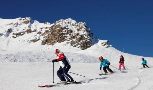vacances au ski avec des enfants