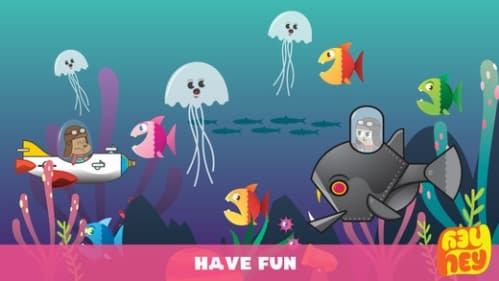 HeyHey Hurry - application pour enfants sur iphone et ipad