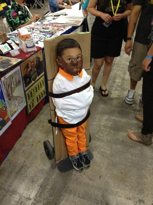 Pires déguisements pour enfants : Hannibal Lecter