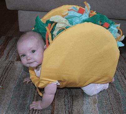 Pires déguisements pour enfants : le kebab