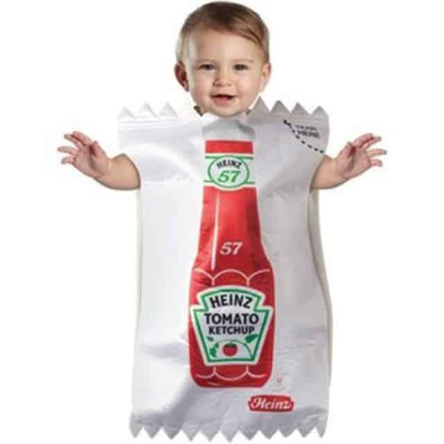 Pires déguisements pour enfants : ketchup