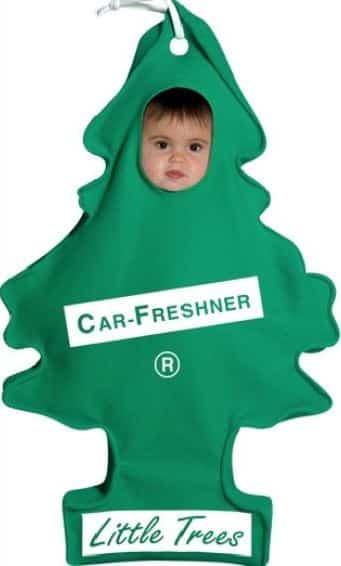 Pires déguisements pour enfants : le sapin