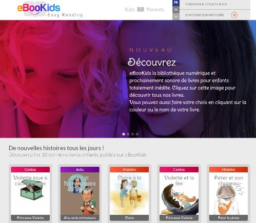 Ebookids : histoires numériques pour les enfants