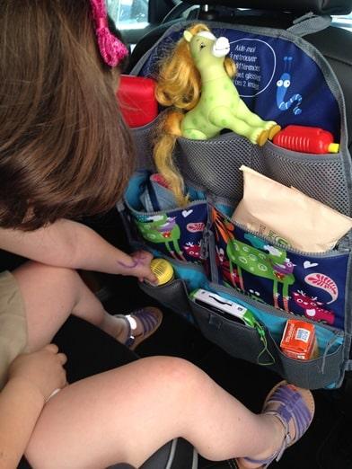 accessoires de voiture : organiseur de siège pour enfant