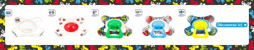 sucettes pour enfants Keith Haring Difrax