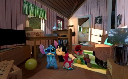 Intérieur de la maison de Lilo et Stitch