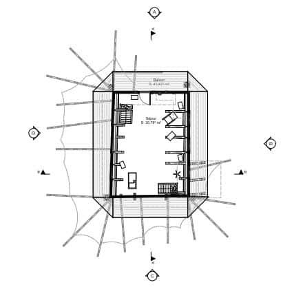 plan de la maison de tarzan