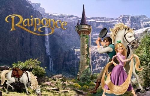 maison Disney : Raiponce