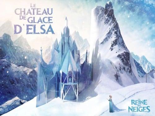 maison Disney : la reine des neiges