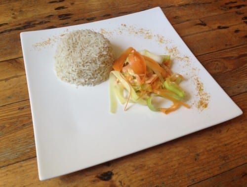 basmati aux legumes croquants
