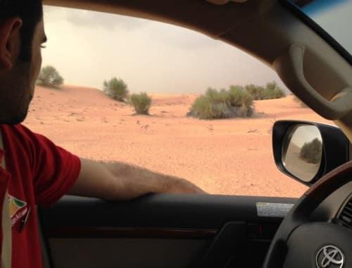 desert safari à Dubaï avec arabian aventures
