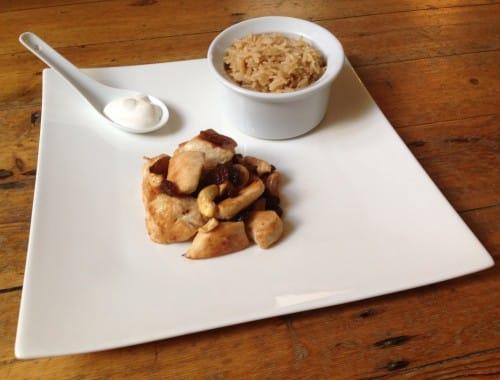cuisiner en 5 minutes : poulet cajou