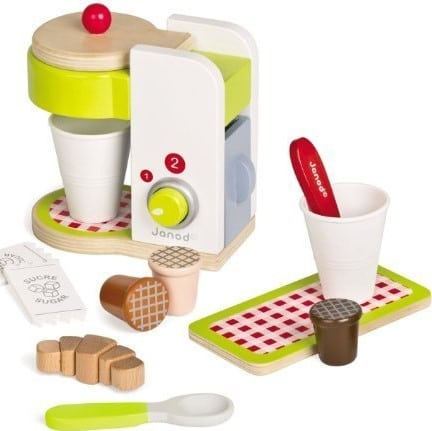 accessoires cuisine pour enfants : machine à expresso picnik janod