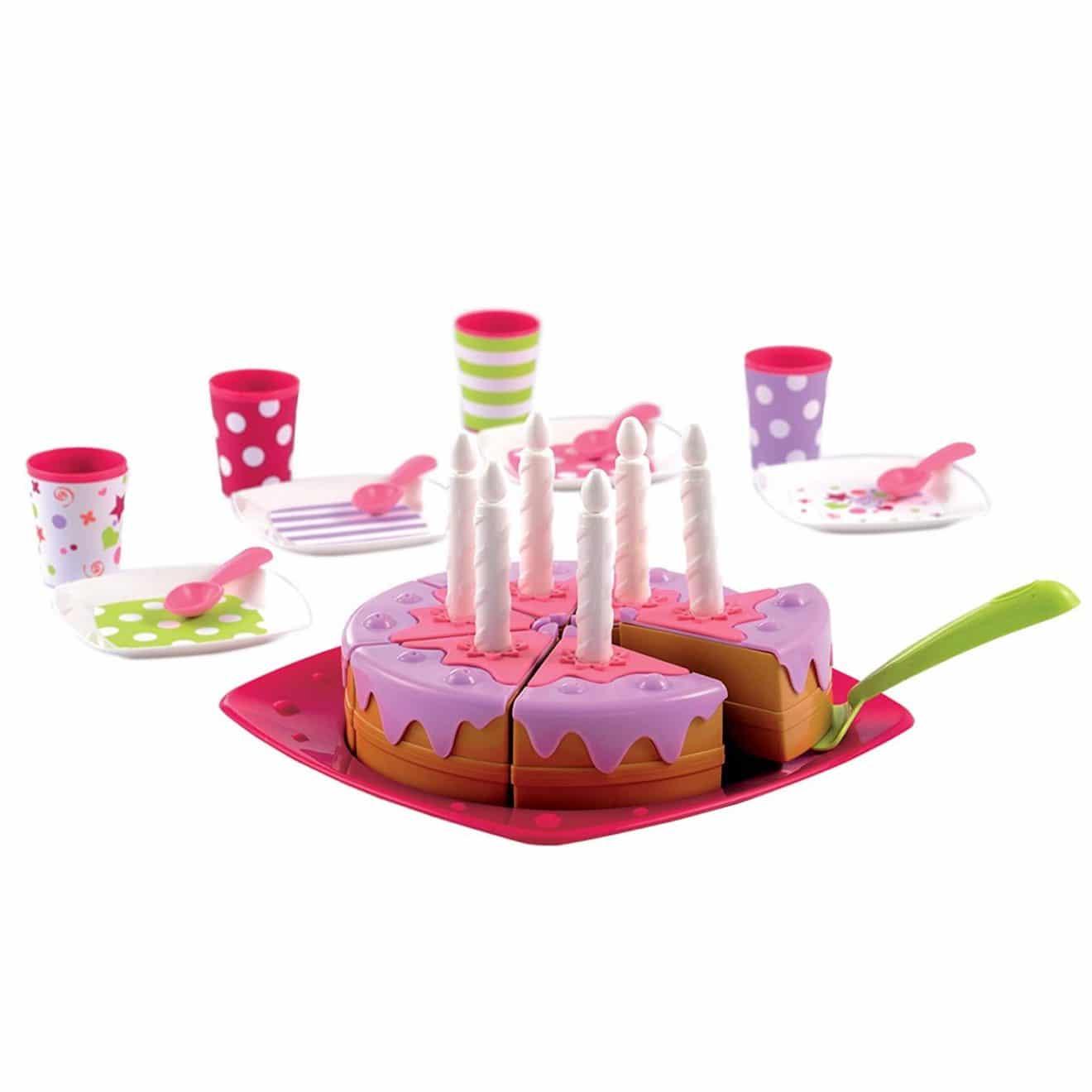 accessoires cuisine pour enfants : gateau anniversaire ecoiffier
