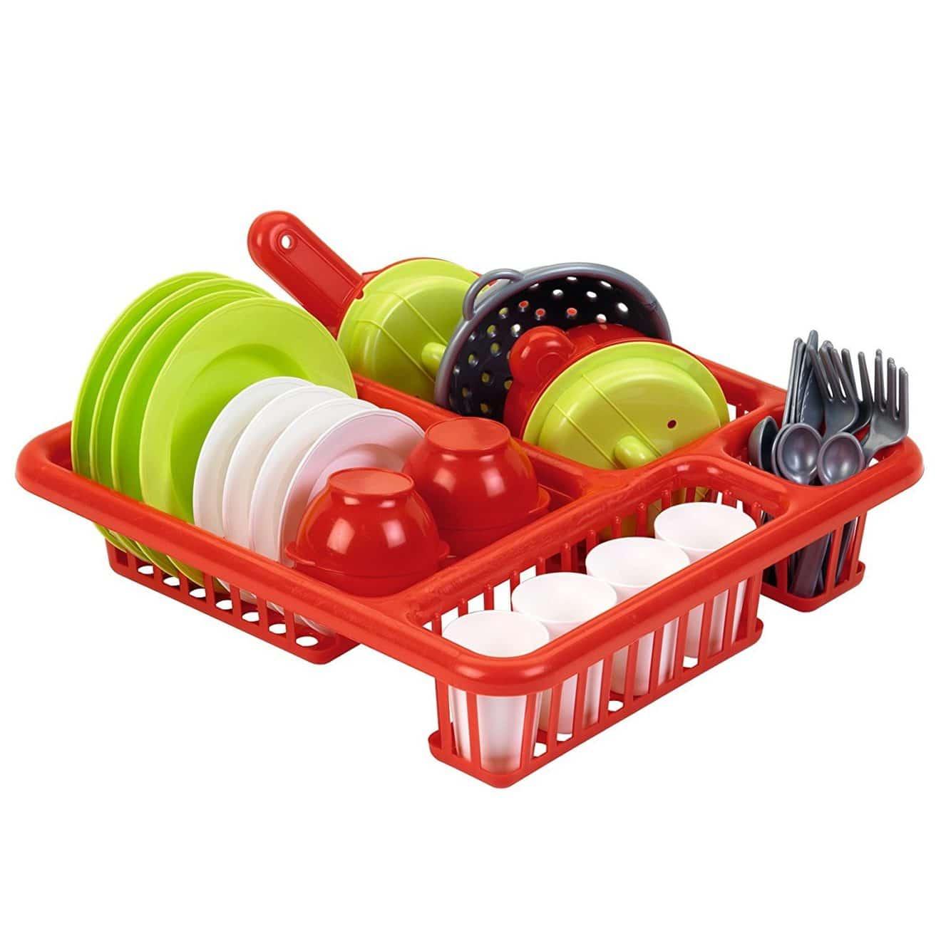 accessoires cuisine pour enfants : egouttoir ecoiffier