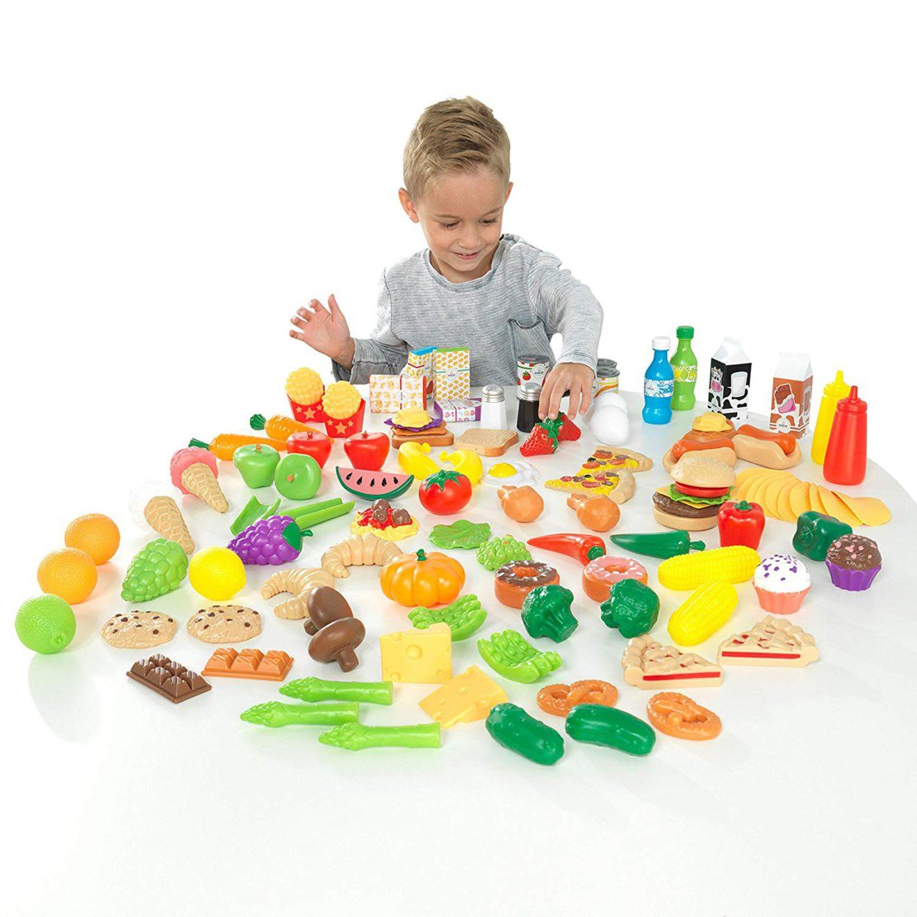 accessoires cuisine pour enfants : produits alimentaires kidcraft