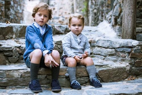 chaussures blucher enfants pisamonas