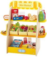 jouet en bois supermarche Sevi