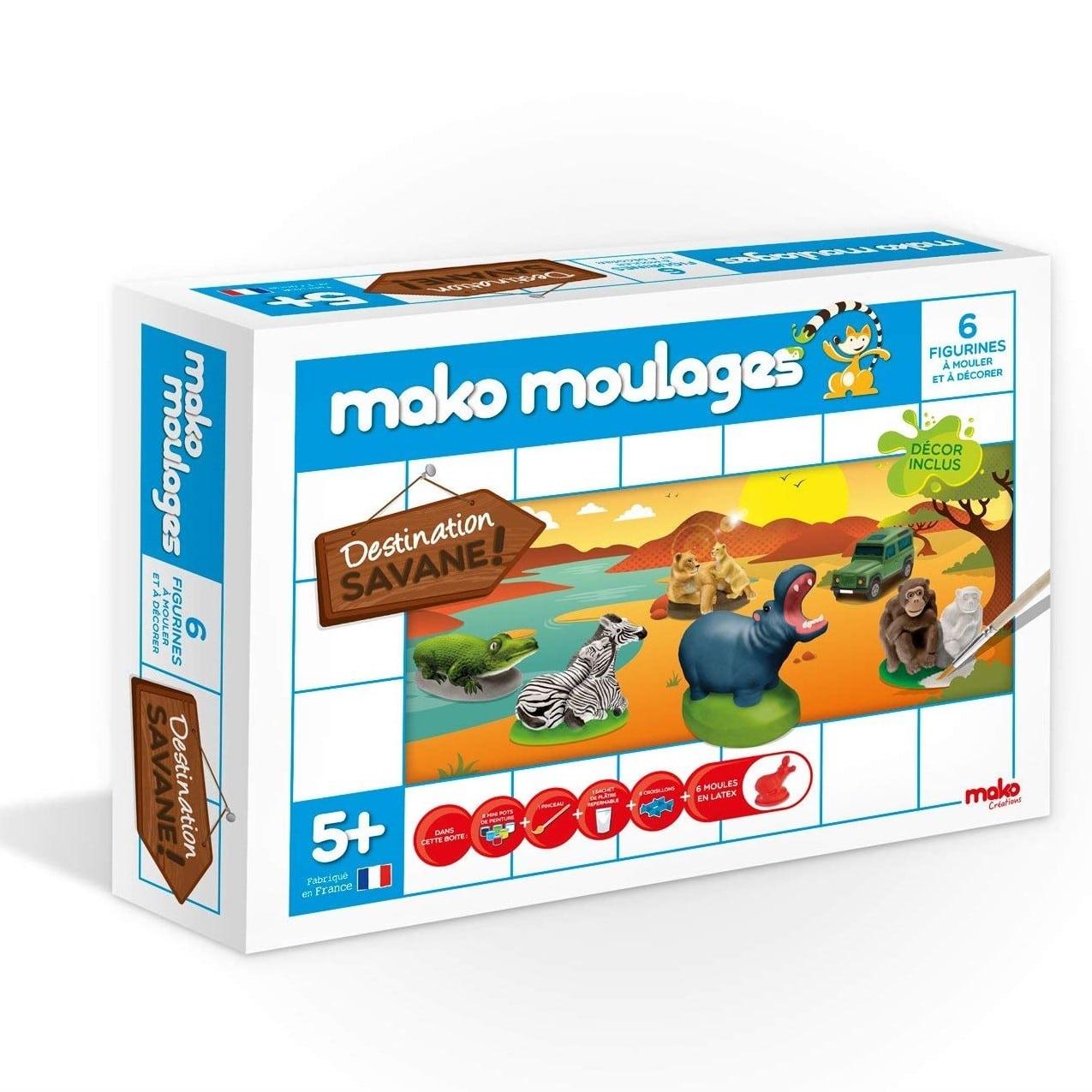 kit de loisirs créatifs pour enfants mako moulages