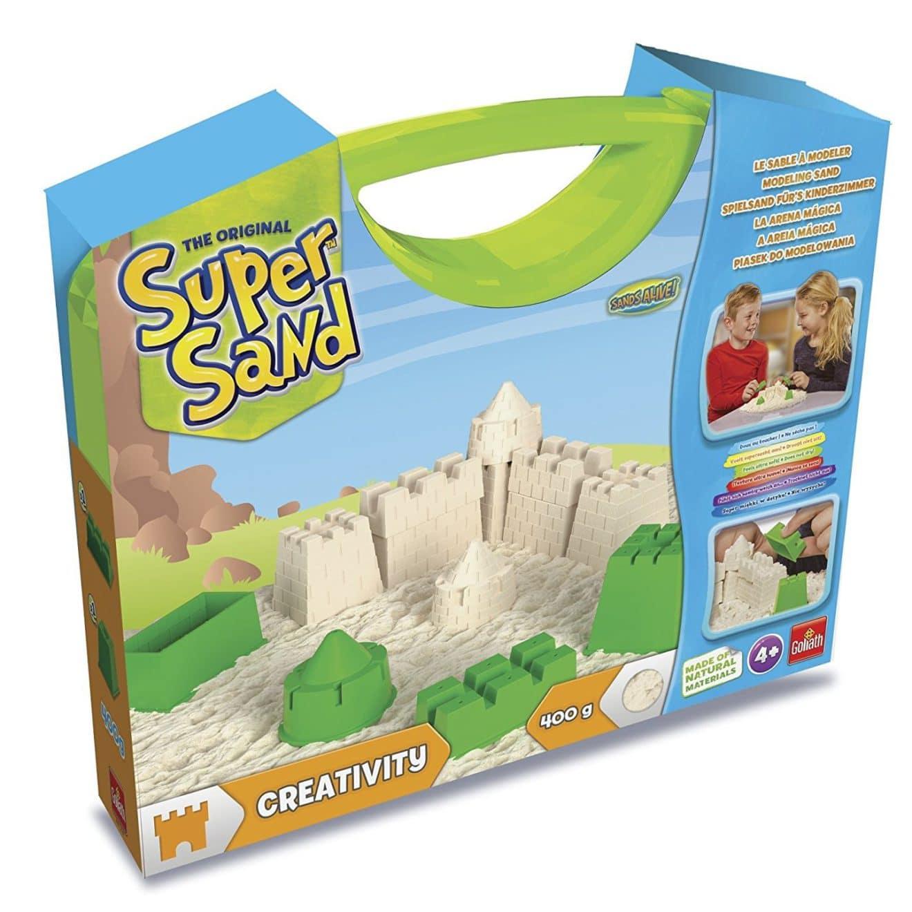 kit de loisirs créatifs pour enfants super sand goliath
